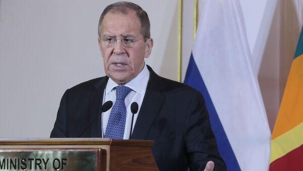 Sergueï Lavrov lors de sa visite au Sri Lanka, le 14 janvier 2020 - Sputnik France