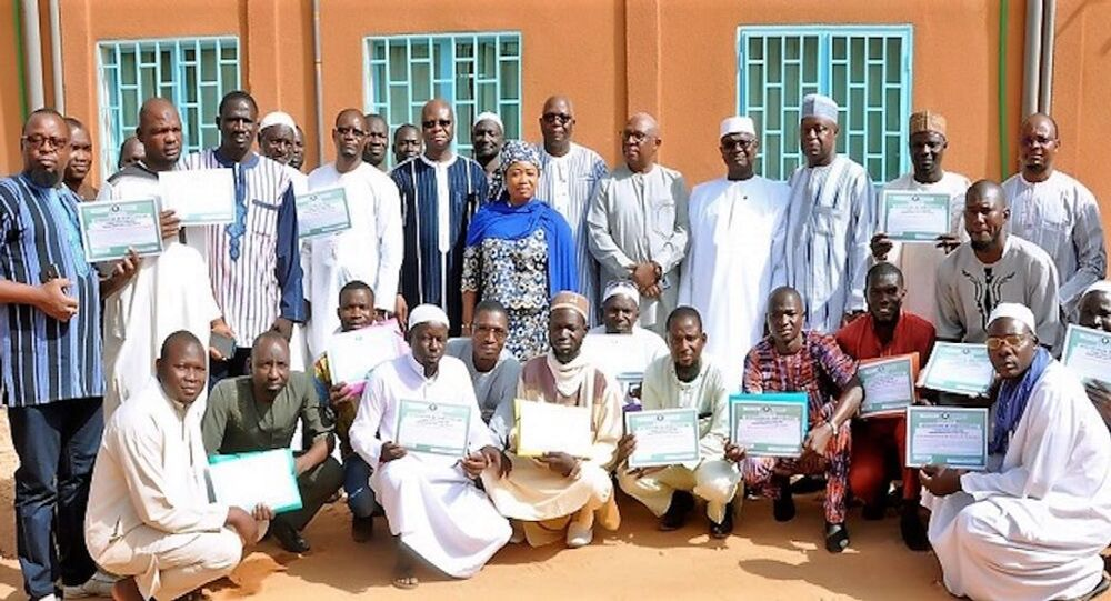 Les guides musulmans formés par la CEDEAO à Ouagadougou, du 23 décembre 2019 au 10 janvier 2020.