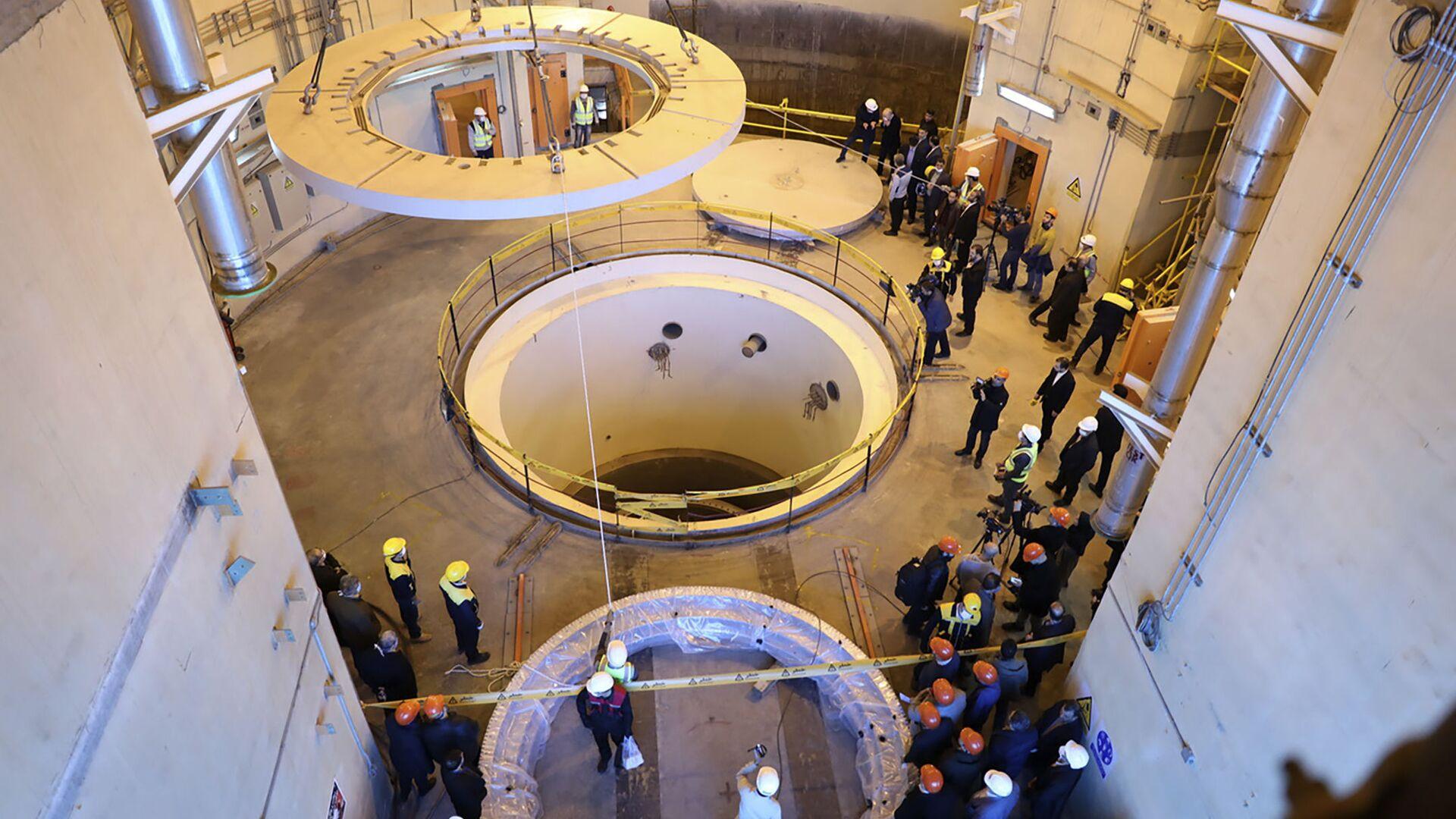 Réacteur nucléaire Iran - Sputnik France, 1920, 14.09.2021