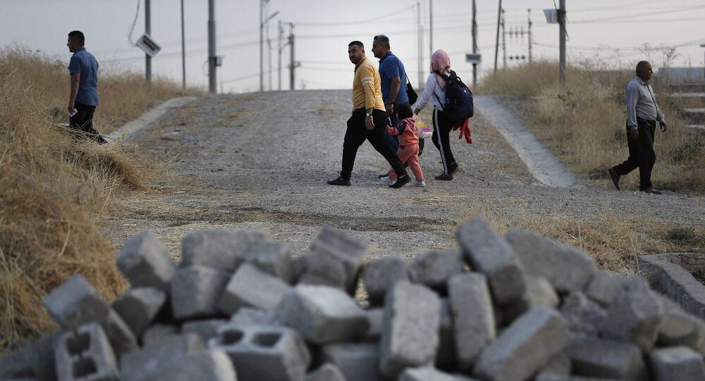 Des personnes en Syrie (photo d'archives)