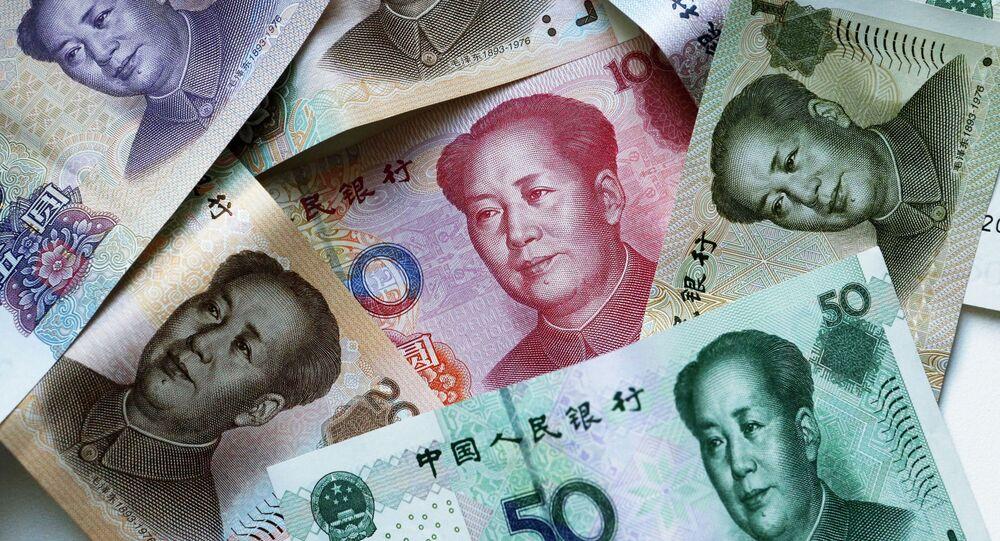 Des yuans chinois (image d'illustration)