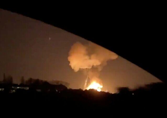 Explosion dans une usine chimique en Espagne