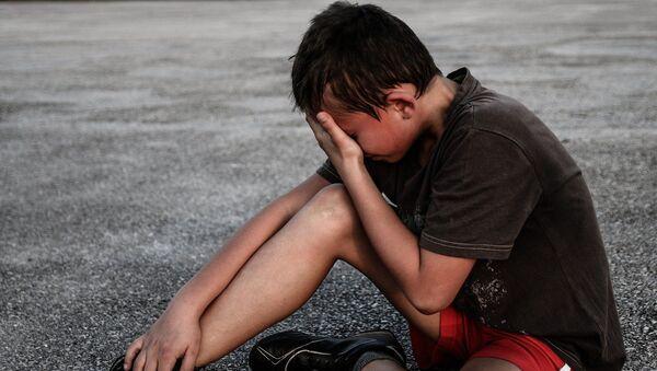 enfant qui pleure (image d'illustration) - Sputnik France