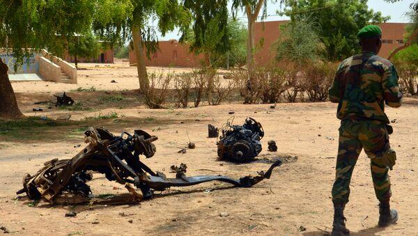 Sur les lieux de l'explosion d'un terroriste-kamikaze au Niger, archives - Sputnik France