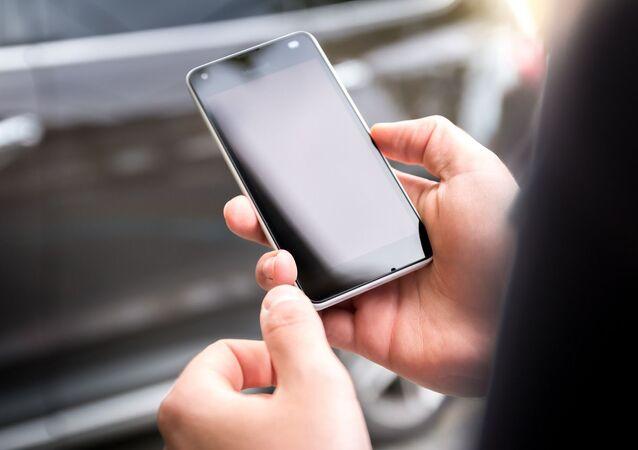 Un téléphone portable (image d'illustration)