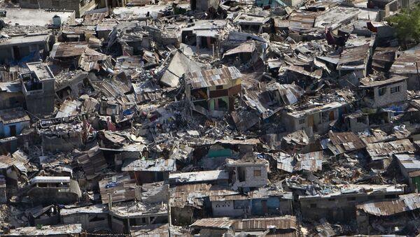Dégâts du séisme en Haïti, janvier 2010 - Sputnik France
