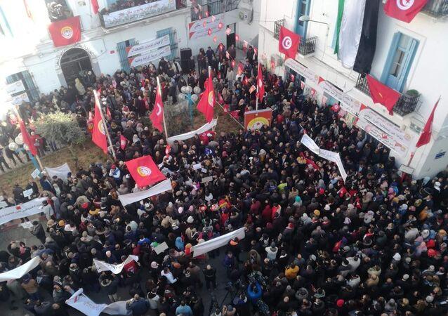 Le 9e anniversaire de la révolution dite «du Jasmin»