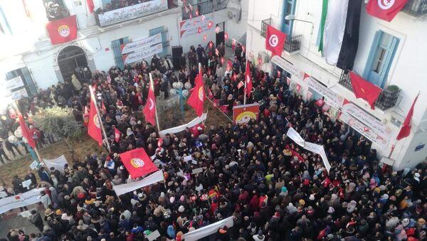 Le 9e anniversaire de la révolution dite «du Jasmin»  - Sputnik France