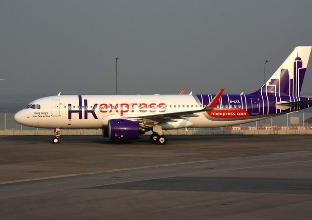 un avion de la compagnie HK Express  (image d'illustration)