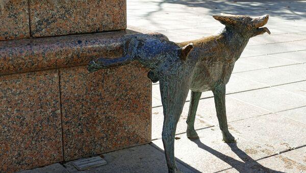 Un chien qui urine (statue) - Sputnik France