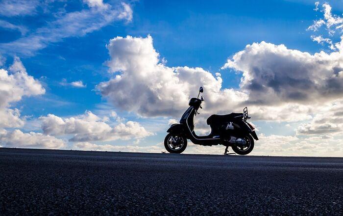 Un scooter