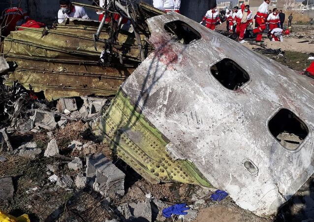 Le Boeing 737 ukrainien abattu en Iran