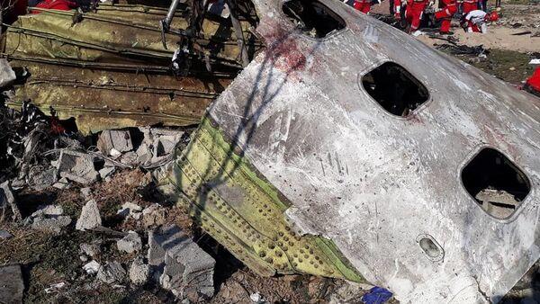 Le Boeing 737 ukrainien abattu par l'Iran - Sputnik France