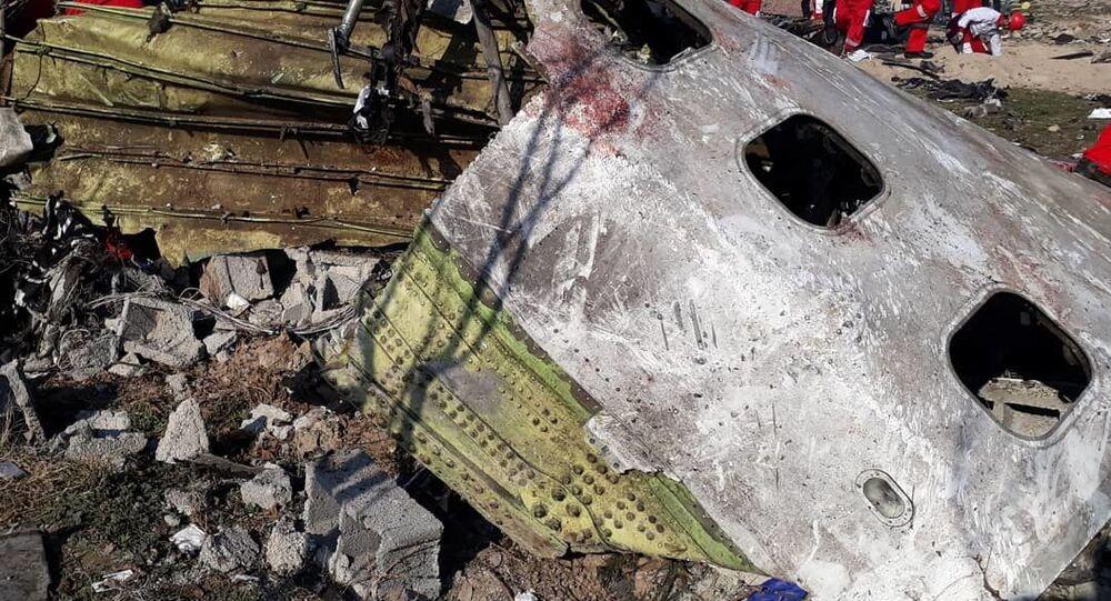 Le Boeing 737 ukrainien abattu par l'Iran