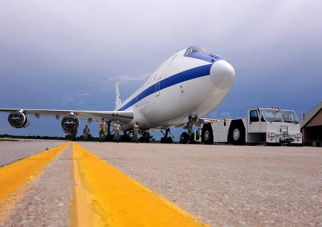 Un E-4B Nightwatch (archive photo)