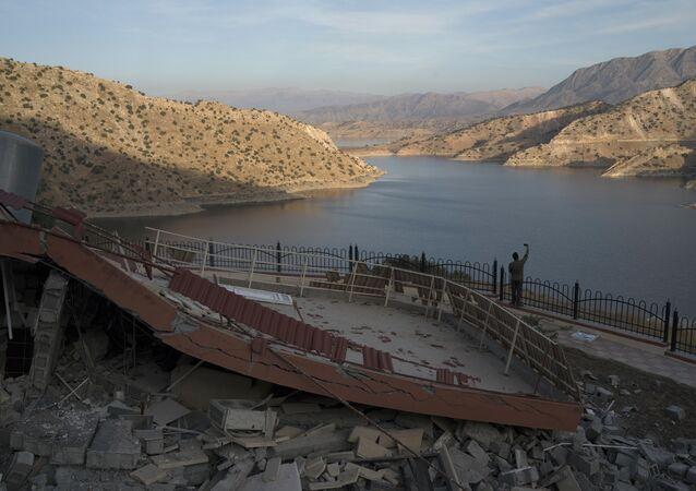 Destructions dans le nord irakien après un séisme