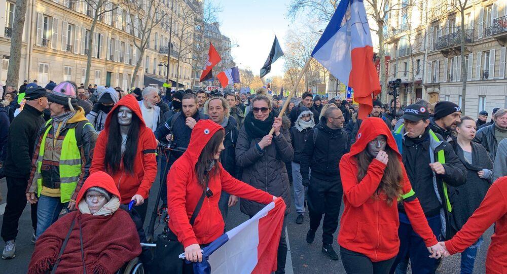 Acte 62 des Gilets jaunes, le 18 janvier 2020, Paris