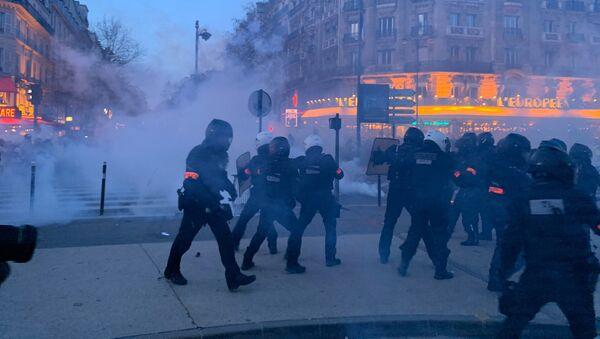 L'acte 62 des Gilets jaunes à Paris, le 18 janvier 2020 - Sputnik France