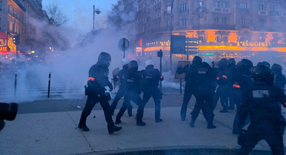 L'acte 62 des Gilets jaunes à Paris, le 18 janvier 2020