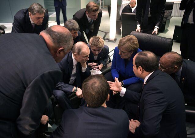 Vladimir Poutine arrivé à la conférence sur la Libye à Berlin