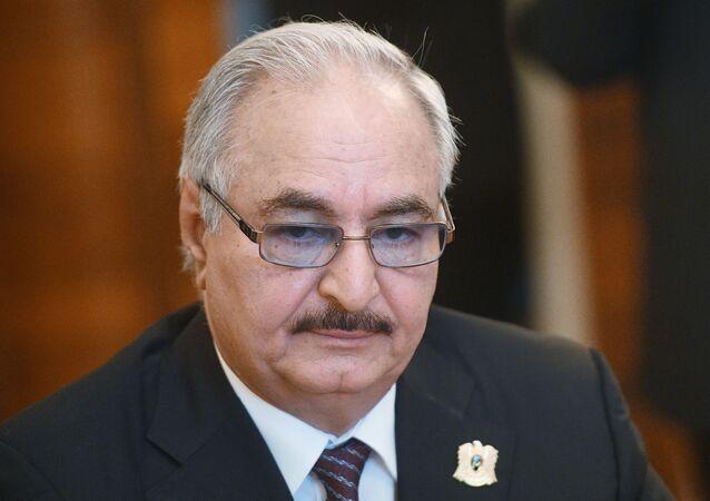 Le commandant de l'Armée nationale libyenne (ANL) maréchal Khalifa Haftar