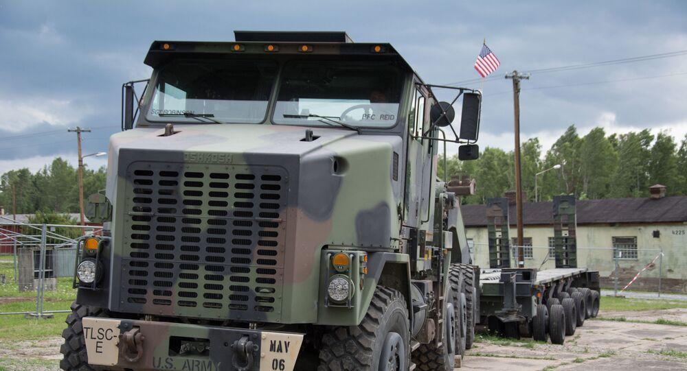 Base militaire américaine à Grafenwöhr, en Allemagne