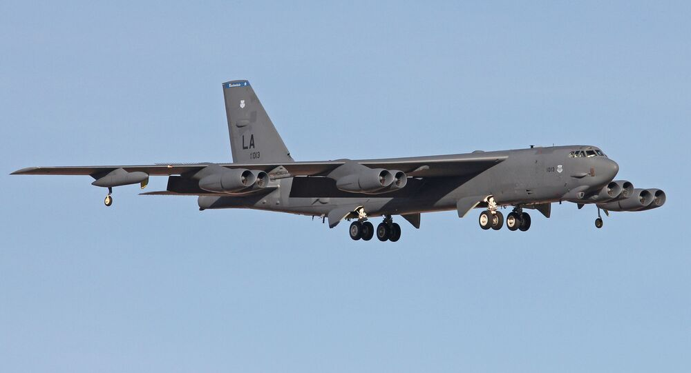 Un Boeing B-52H Stratofortress (image d'illustration)