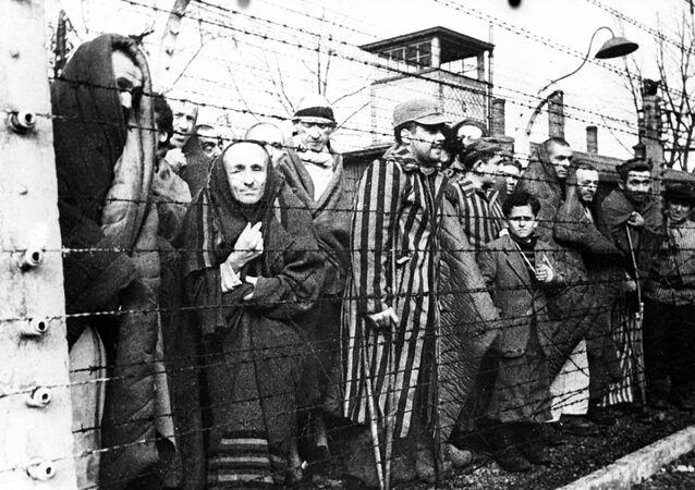 Auschwitz avant la libération par des troupes soviétiques