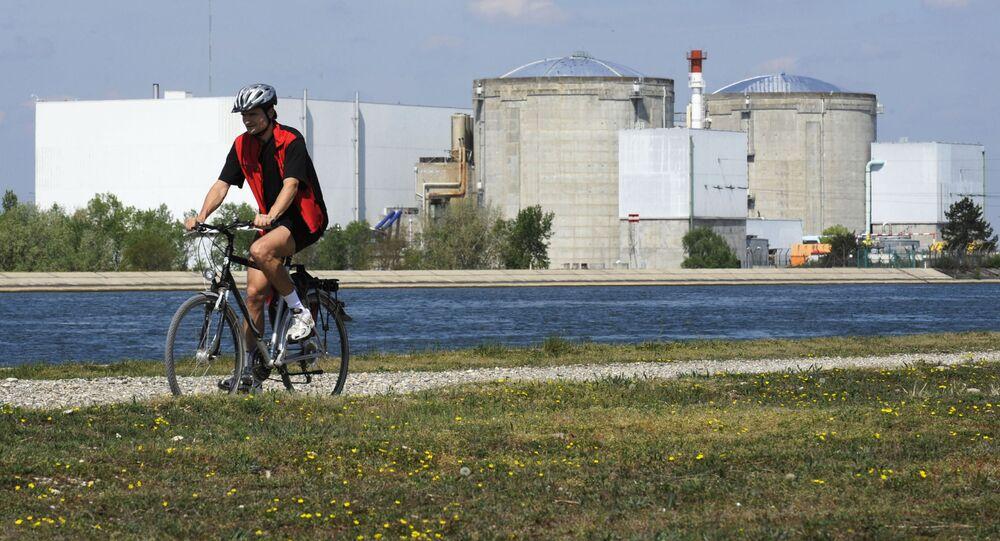La centrale nucléaire de Fessenheim (photo d'archives)