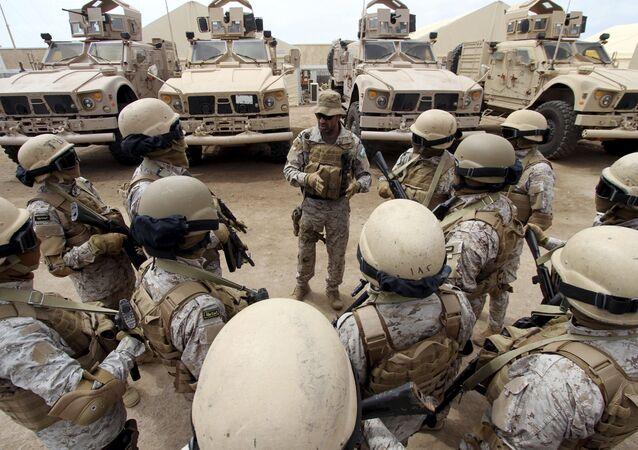Militaires saoudiens (image d'illustration)