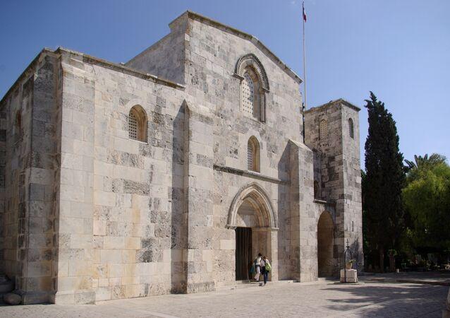 la basilique Sainte-Anne, à Jérusalem.
