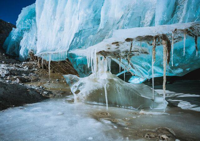 Un glacier au Tibet