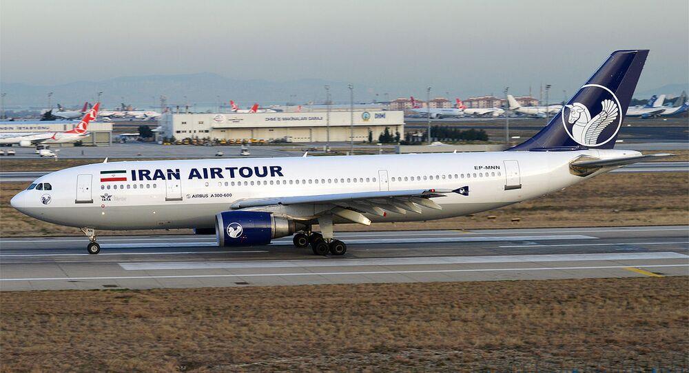 Un Airbus A300-605 d'Iran AirTour