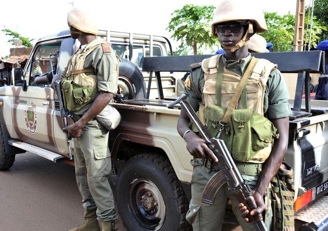 Soldats maliens à Bamako (archive photo)