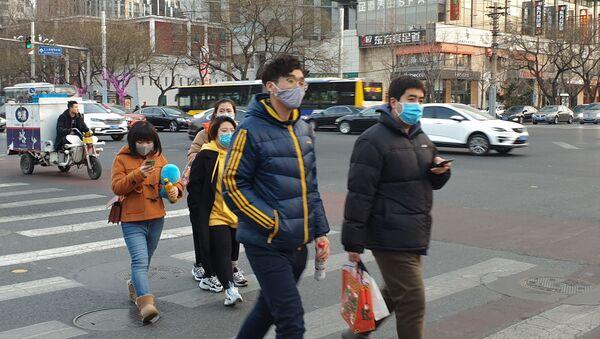 Une rue de Pékin après l'annonce d'une épidémie du coronavirus 2019-nCoV - Sputnik France