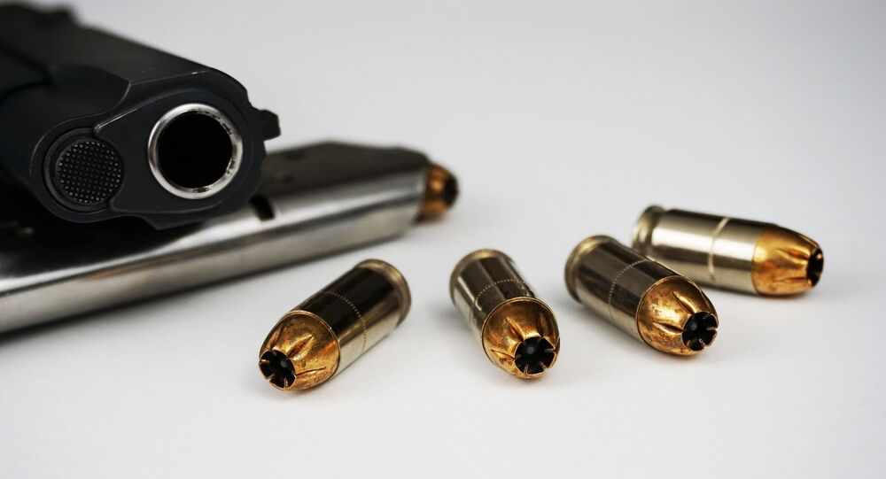 Pistolet et munitions