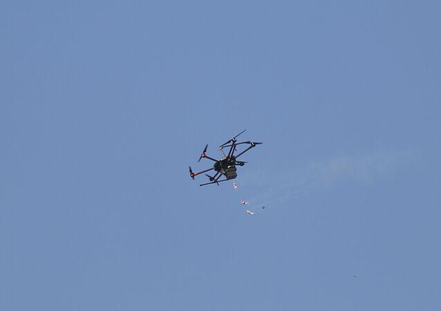 Un dron israelí