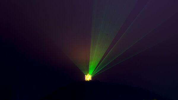 Un laser - Sputnik France