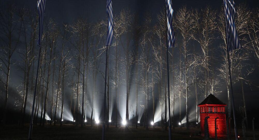 75e anniversaire de la libération du camp d'extermination d'Auschwitz-Birkenau