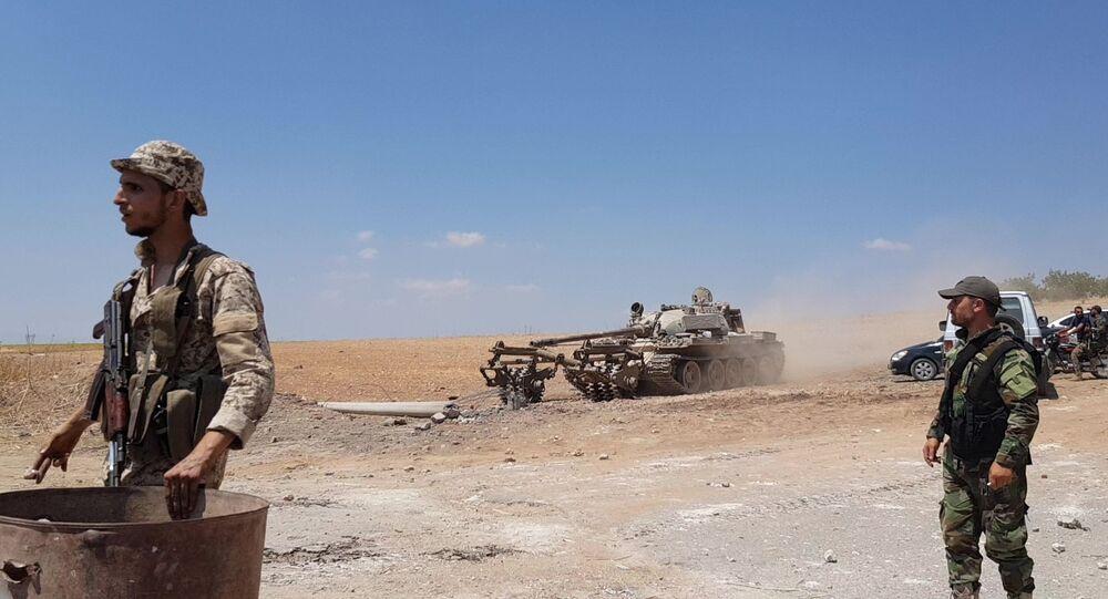 Des soldats syriens dans le gouvernorat d'Idlib (archive photo)