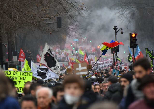 Paris en grève