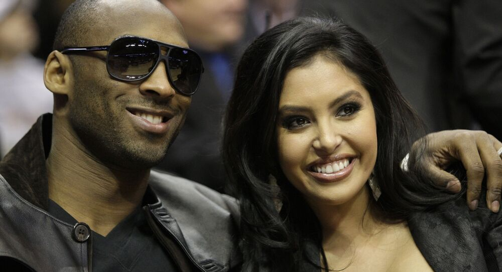 Kobe Bryant et son épouse, Vanessa (archive photo)