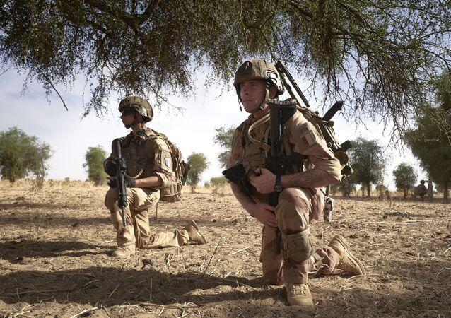 Soldats français au Mali//opération Barkhane