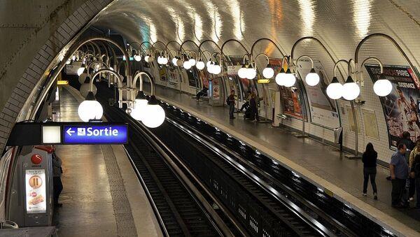 Le métro de Paris - Sputnik France