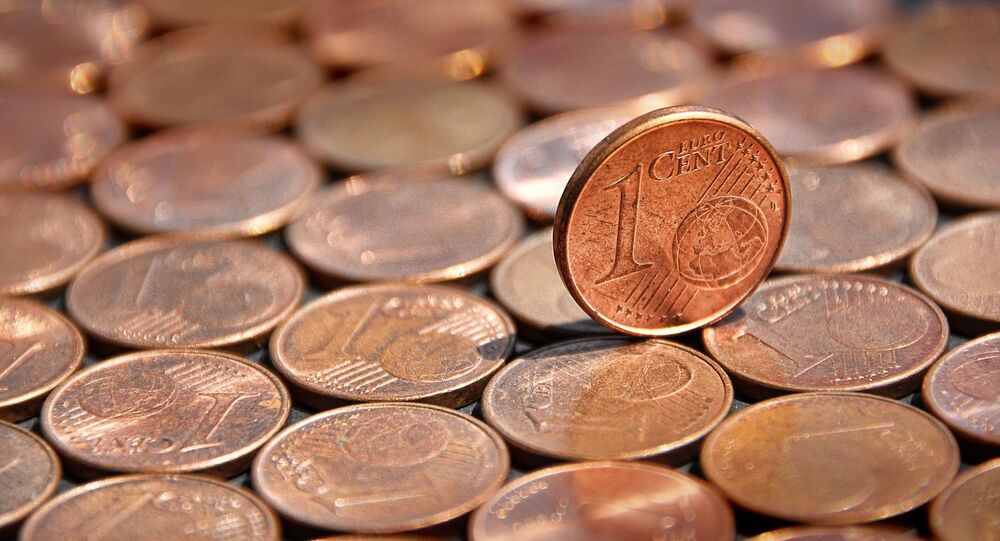 Les pièces d'un centime