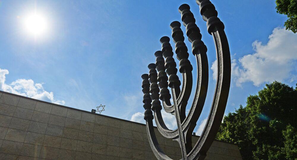 Synagogue commémorative sur la colline Poklonnaya à Moscou