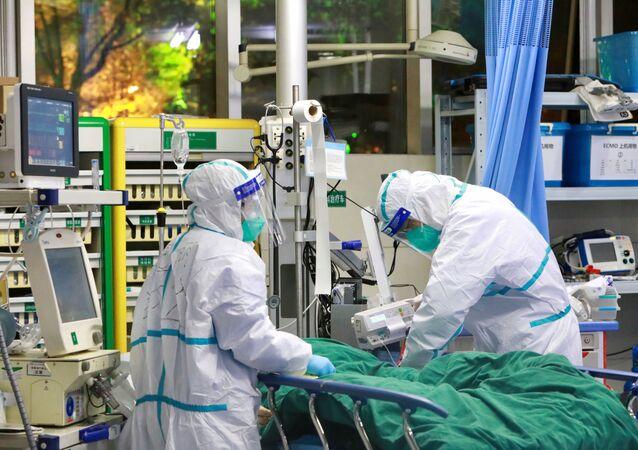 Dans un hôpital de Wuhan