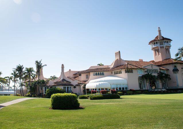 La résidence de Donald Trump Mar-a-Lago à Palm Beach, en Floride.