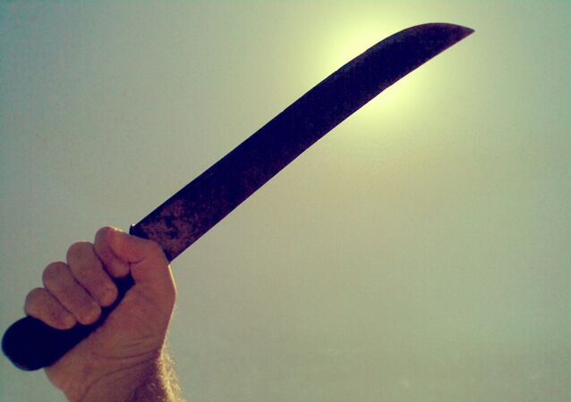 une machette, image d'illustration