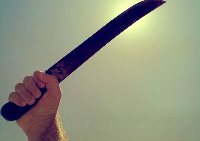 Une machette (image d'illustration)